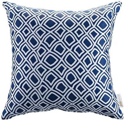 Modway Modway Collection Outdoor Patio Single Pillow with Weather Resistant Polyester Weave, Plush Fiber Filling and Inspiring Patterns in