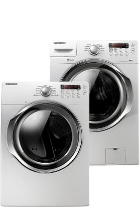 Samsung Appliance WF330ANW-DV330AEW-PAIR Washer and Dryer Co
