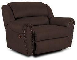 Lane Furniture 21414186598740 Summerlin Series Transitional Leather Wood Frame  Recliners