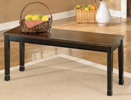 Signature Design by Ashley D58000 Owingsville Series Kitchen Armless Wood Not Upholstered Bench