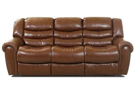 Klaussner BASKINRS Baskin Series Reclining Bonded Leather Sofa