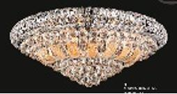 "J & P Crystal Lighting Corona Collection SP81076F-25 25"" Wide Chandelier in X Finish"