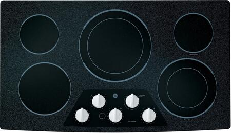 GE JP656DDWW CleanDesign Series Electric Cooktop