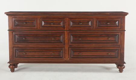 Home Trends & Design ZWSR8012 Sorrento Series Wood Dresser