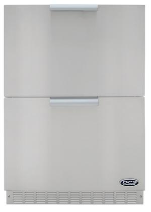 DCS RF24DE2 Built In Refrigerator Drawer(s) Outdoor Refrigerator