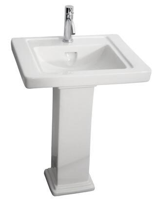 Barclay 3891WH White Bath Sink