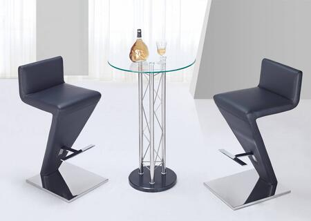 Global Furniture USA M208BTMB02BS3PCSET Bar Tables