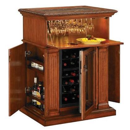 """Tresanti DC2067C2271834 34.00"""" Wine Cooler, in Pecan Cherry"""