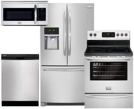 Frigidaire FG4PCFSFDCDEFCSSKIT1 Gallery Kitchen Appliance Pa