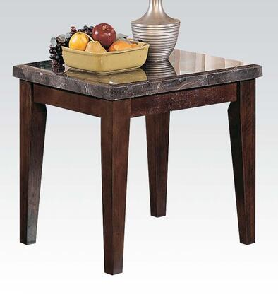 Acme Furniture 07143 Danville Series Contemporary Wood Rectangular End Table