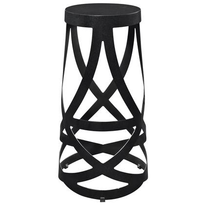 Modway EEI-1017 Ribbon Bar Stool with Modern Interwoven Strip Design, Powder Coated Steel Strips and Seat