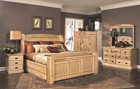 AAmerica AHINT5071Q4P Amish Highlands Queen Bedroom Sets