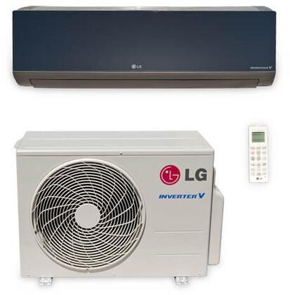 LG LA180HSV Mini Split Air Conditioner Cooling Area,