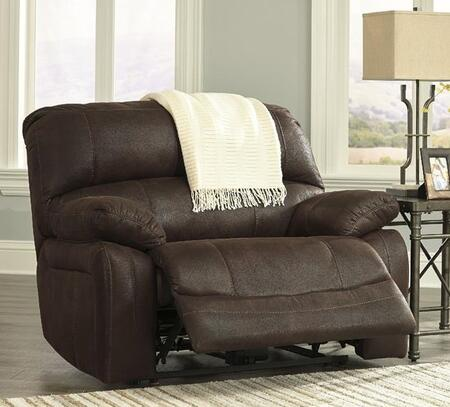 Milo Italia MI522057PTRUF Emilee Series Contemporary Fabric Metal Frame  Recliners