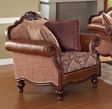 Meridian 609C Fabric with Wood Frame