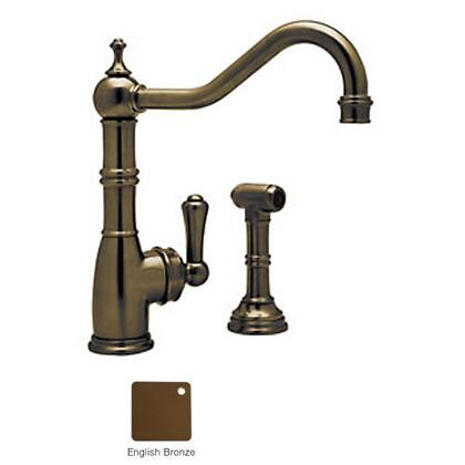 Rohl U.4746-2 Perrin and Rowe Collection Single Lever Single Hole Mixer With Handspray: