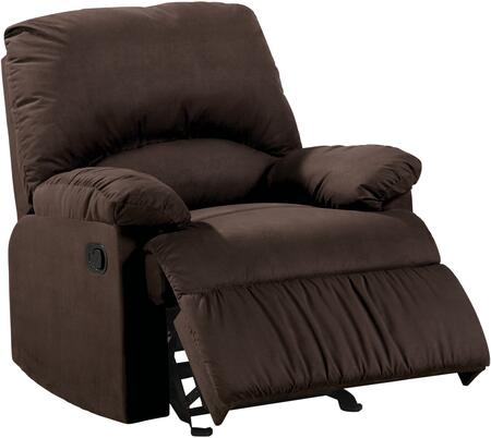 Coaster 60026 Glider Recliner in Microfiber by Coaster Co.