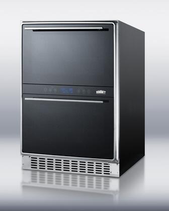 "Summit SWCD40 23.63"" Freestanding Wine Cooler"