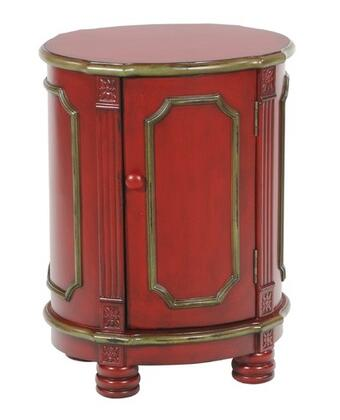 Gail's Accents 20031LT Rouge Series Contemporary Casual End Table