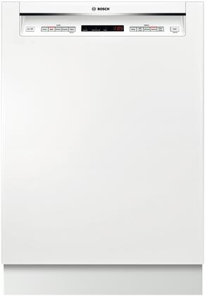 "Bosch 500 Series SHE65T5XUC 24"" Recessed Handle Dishwasher with 16 Place Settings, AquaStop Leak Protection, Load Size Sensor, and Automates Wash Temperature in"
