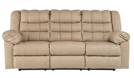 "Milo Italia MI-2343TMP Penelope 83"" Full Sofa Sleeper with Lift Mechanism, Pillow Top Arms, Innerspring Mattress and DuraBlend Upholstery in"