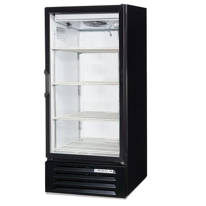 "Beverage-Air LV10-1 LumaVue 24"" One Section Refrigerated Glass Door Merchandiser with LED Lighting, 10 cu.ft. Capacity, [Color] Exterior and Bottom Mounted Compressor"