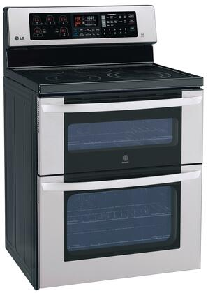 Lg Lde3037st Electric Freestanding Range With Smoothtop