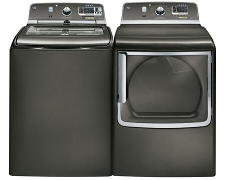GE GTWS8355HMCPAIR1 Washer and Dryer Combos