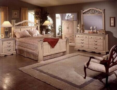 Sandberg 176C Belladonna Palace King Bedroom Sets