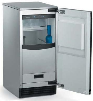 Scotsman SCCP50M1WU  Built-In Ice Maker with 65 lb. Daily Ice Production, 26 lb. Ice Storage,