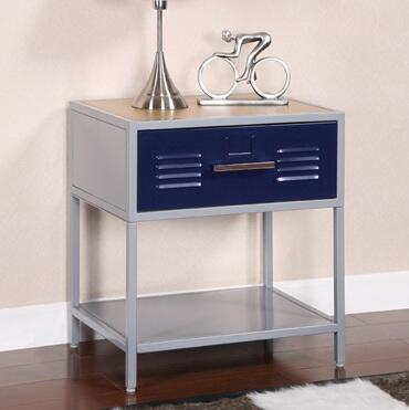 Powell 517029 Teen Trends Series  Metal Night Stand