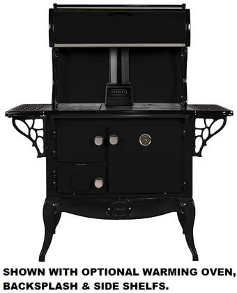 Stanley WSERWBNBMBL  Woodburning Freestanding Range with 1.8 cu. ft. Primary Oven Capacity, in Other