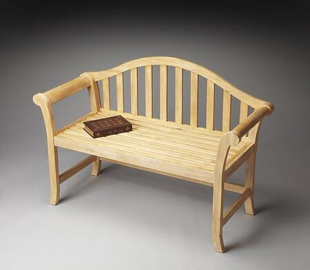 Butler 1238273 Accent  Wood Not Upholstered Bench