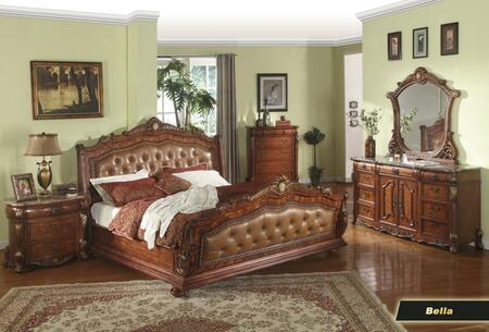 Meridian BELLAKSET Bella King Bedroom Sets