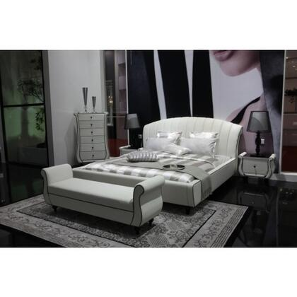 VIG Furniture AUSPICIOUSNIGHTSTAND  Rectangular Wood Night Stand