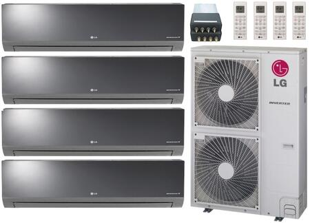 Lg Quad Zone Mini Split Air Conditioner System With 63000