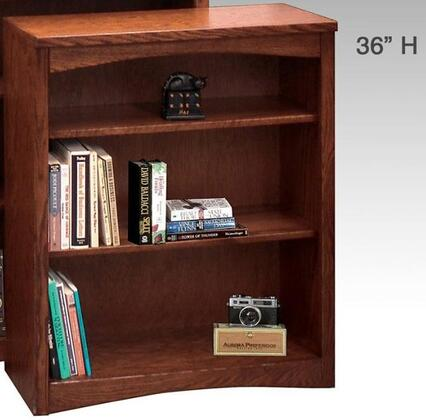 Legends Furniture MM6636RDOMission Series  Bookcase