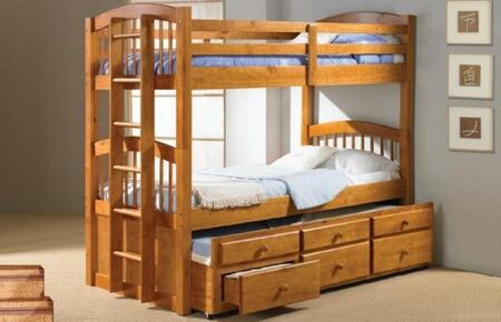 Donco 1342H  Twin Size Bunk Bed
