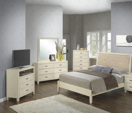 Glory Furniture G1290AFBCHDMTV G1290 Full Bedroom Sets