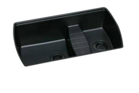 "Elkay ELQTULB342210 Harmony 18-3/4"" Undermount Double Bowl Quartech Sink"