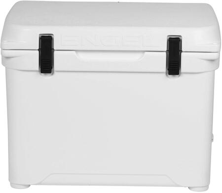 White Cooler Open Lid   Front View