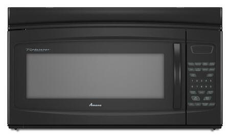Amana AMV2174VAB 1.7 cu. ft. Over the Range Microwave Oven with 230 CFM, 1000 Cooking Watts, in Black