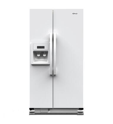 Whirlpool WSR25D2RYW Freestanding Side by Side Refrigerator