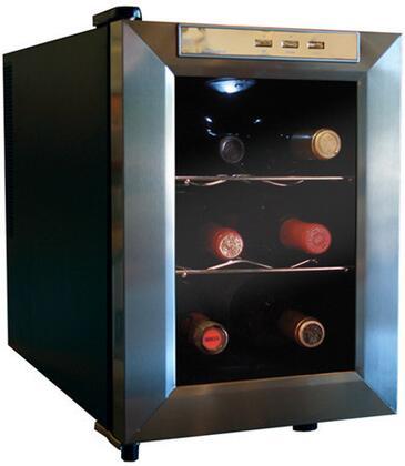 "Vinotemp VT6TEDS 10.25"" Freestanding Wine Cooler"