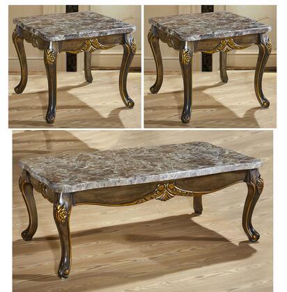Meridian 2563PCRC2SEKIT1 Stefania Living Room Table Sets