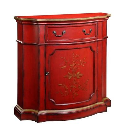 Gail's Accents 50012CR Rouge Series Wood Chest