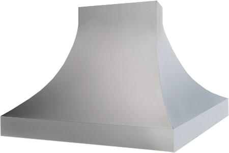 Prizer Hoods SACSI Sahara Curved Sides Island Mount Hood with Curved Sides, Seamless Construction, 3-Speed Control, High Heat Sensor, Baffle Filters and Mirror Finished Edges, in