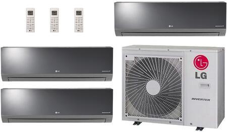 LG 704282 Triple-Zone Mini Split Air Conditioners