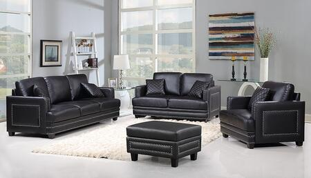 Meridian 655BLSLCO Ferrara Living Room Sets