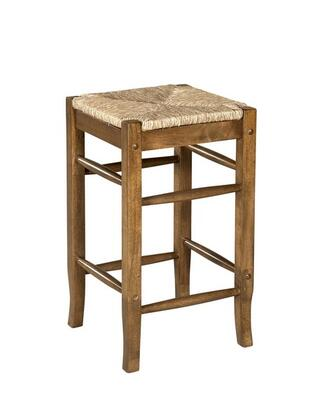 Linon 98198OAK01KD Tulsa Series Residential/Commercial No Upholstered Bar Stool